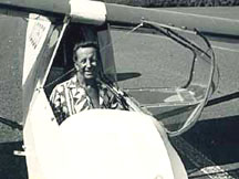 Woody in early glider