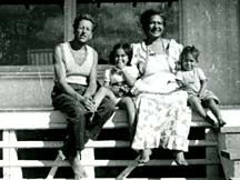 Woody; wife, Rachael; daughter, Mary Sue; son, William